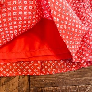 Old Navy Skirts - Red and White Printed Skirt